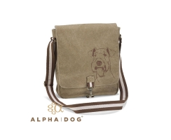 Canvas Tasche  Buddy Airedale Terrier